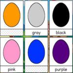 Huevos de Colores en Inglés