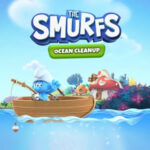 Los Pitufos limpian el mar
