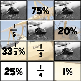 Porcentajes y Fracciones