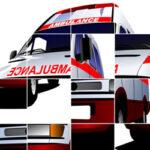 Puzzle Deslizante de Ambulancias