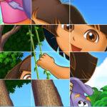 Puzzle Deslizante de Dora