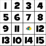 Puzzle Deslizante de Números