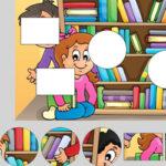 Puzzle de Formas: El Colegio