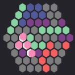 Tetris de Hexágonos de Colores