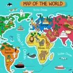 Puzzle de Mapa del Mundo