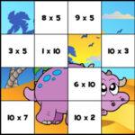 Puzzle de Multiplicaciones
