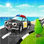 Puzzles Online de Dibujos de Policía
