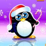 Rompecabezas de Pingüinos en Navidad