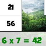 Puzzles de las Tablas de Multiplicar