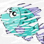 Rascar y Borrar Animales del Oceáno
