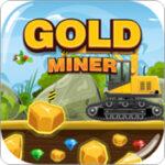 Recoger oro en una mina