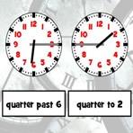 Reloj en Inglés: las horas