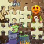 Puzzles Rompecabezas de Halloween