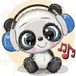 Rompecabezas de Animales Musicales