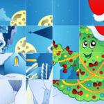 Rompecabezas de Rotar Piezas en Navidad
