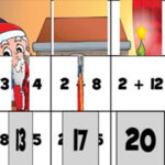 Rompecabezas de Sumas en Navidad