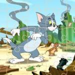 Puzzles Rompecabezas de Tom y Jerry