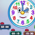 Las Horas del Reloj con el Señor Reloj