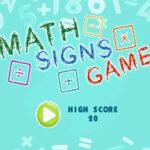 Signos Matemáticos