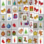 Solitario Mahjong de Navidad