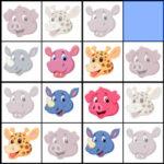 Sudoku 4×4 de Animales