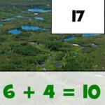 Puzzle de Sumas: Día de la Tierra