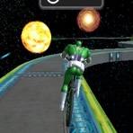 Superhéroes en Bicicleta en el Espacio