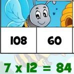 Puzzle de Tablas de Multiplicar hasta 12