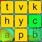 Teclear en orden las letras del alfabeto