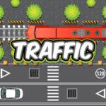 Peatones cruzando el tráfico