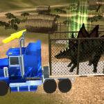 Transporte de Dinosaurios 3D