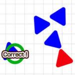 Triángulo de Diferente color