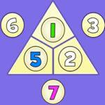 Triángulo de Sumas hasta 10