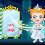 Vestir a Baby Hazel de Princesa