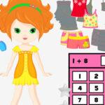 Matemáticas y Vestir Muñecas