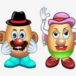 Vestir a los Señores Patata (Mr & Mrs Potato)