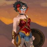 Vestir a Wonder Woman
