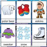 Vocabulario de Invierno en Inglés