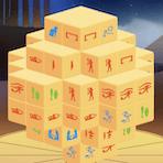 Mahjong Egipcio en 3D