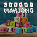 Mahjong con letras del Alfabeto