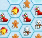 Puzzle Hexagonal de Navidad