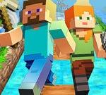 Correr con Minecraft